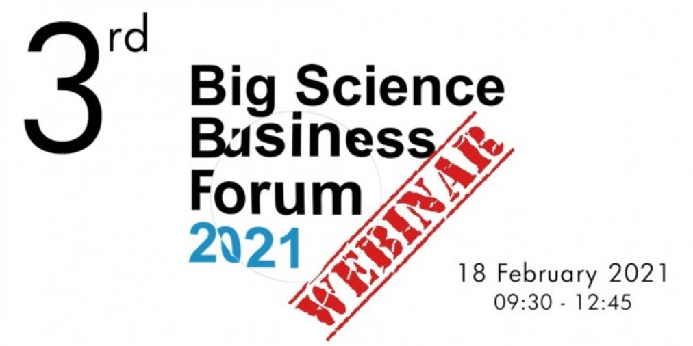 Tercer Webinar: Big Science Business Forum